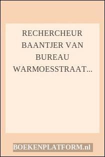 Rechercheur Baantjer Van Bureau Warmoesstraat Vertelt