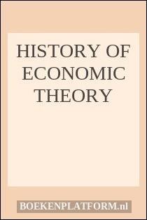 History of Economic Theory