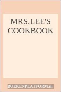 Mrs.lee's Cookbook