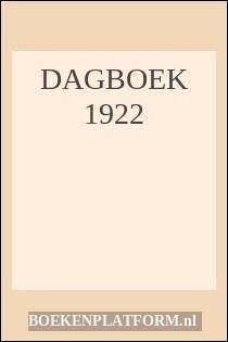 Dagboek 1922