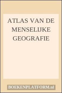 Atlas van de menselijke geografie