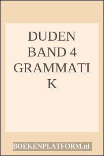 Duden Band 4 Grammatik