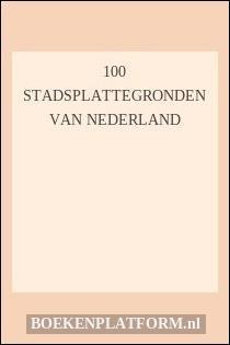 100 Stadsplattegronden van Nederland