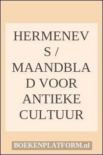 Hermenevs / maandblad voor antieke cultuur