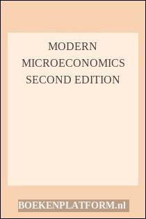 Modern Microeconomics Second Edition