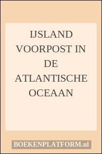 Ijsland voorpost in de Atlantische Oceaan