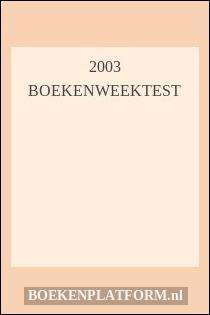 2003 Boekenweektest