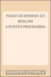 Pakistan hindoes en moslims 6-punten-programma