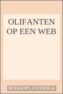Olifanten Op Een Web