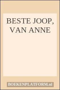 Beste Joop, van Anne