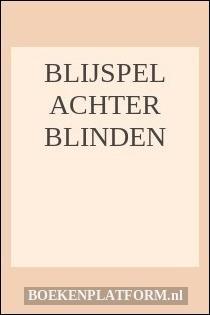 Blijspel Achter Blinden