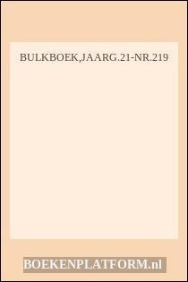 Bulkboek,jaarg.21-Nr.219