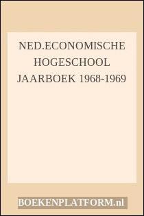 Ned.economische Hogeschool Jaarboek 1968-1969
