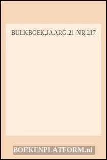 Bulkboek,jaarg.21-Nr.217