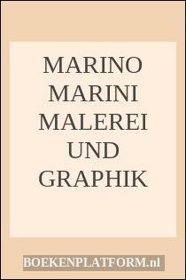 Marino Marini Malerei Und Graphik