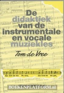 De Didaktiek Van De Instrumentale En Vocale Muziekles