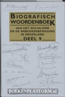 Biografisch woordenboek van het socialisme en de arbeidersbeweging in Nederland